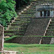 Mayan ruins of Bonampak. Chiapas, Mexico.