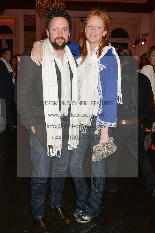 OLIVIA INGE and PETER DAVIES at White by Agadir hosted by the Moroccan National Tourist Office to celebrate the White City in Morocco in the presence of H.H.Princess Lalla Joumala, Ambassador of HM The King of Morocco held at Il Bottaccio, 9 Grosvenor Place, London on 4th November 2014.