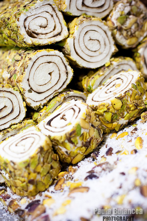 Pistachio Turkish Sweets Paula Bulancea Photography