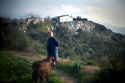 Georgia 79, from a place called Tourkovounia (Turkish Mountain) tends to her does. Quite literally there is a village on a mountain in the centre of Athens. Image © Angelos Giotopoulos/Falcon Photo Agency