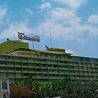 Pictured: Via Espan?a shooping area Street scene. Downtown Panama City. Hotel El Panama.Via Espan?a Avenue