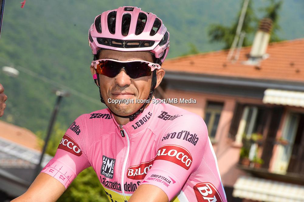 Alberto Contador - Tinkoff Saxo - 29.05.2015 - Tour d'Italie - Etape 19 :  Gravellona Toce / Cervinia<br />Photo : Sirotti / Icon Sport
