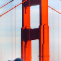 Tourist, Golden Gate Bridge, San Francisco, CA