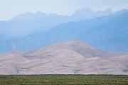 Great Sand Dunes National Park, Sangre de Cristo Mountains
