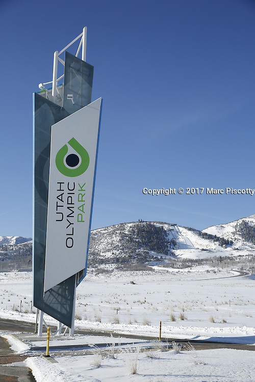 SHOT 3/2/17 9:30:58 AM - Park City, Utah lies east of Salt Lake City in the western state of Utah. Framed by the craggy Wasatch Range, it's bordered by the Deer Valley Resort and the huge Park City Mountain Resort, both known for their ski slopes. Utah Olympic Park, to the north, hosted the 2002 Winter Olympics and is now predominantly a training facility. In town, Main Street is lined with buildings built primarily during a 19th-century silver mining boom that have become numerous restaurants, bars and shops. (Photo by Marc Piscotty / © 2017)
