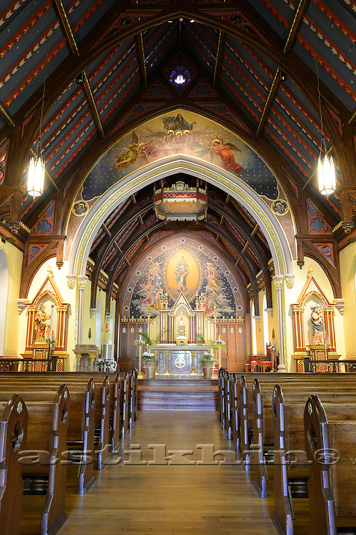 The Immaculate Conception Chapel at Seton Hall University.