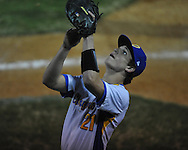 Oxford High's Parker Adamson (21) vs. Olive Branch in Oxford, Miss. on Monday, February 27, 2012. Oxford won 3-1.