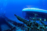 Atlantis Submarine at the Carthaginian II, Maui Hawaii