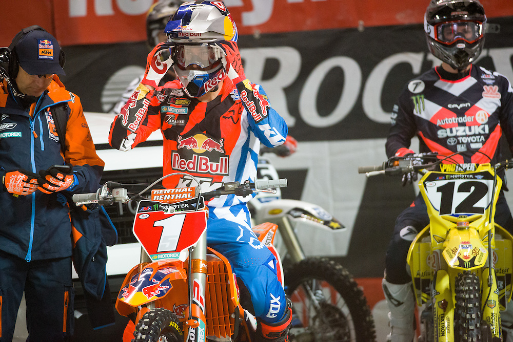 2017 AMA Supercross Series<br /> Rogers Center<br /> Toronto, Ontario<br /> March 4, 2017