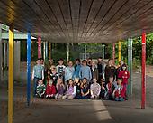 Schulklasse in Langenhorn