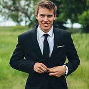 31 May 2014 - Bride Maris Anderson and groom Eric Taylor getting married in Blair, Nebraska. Reception at the old Omar Bakery in Omaha, Nebraska.