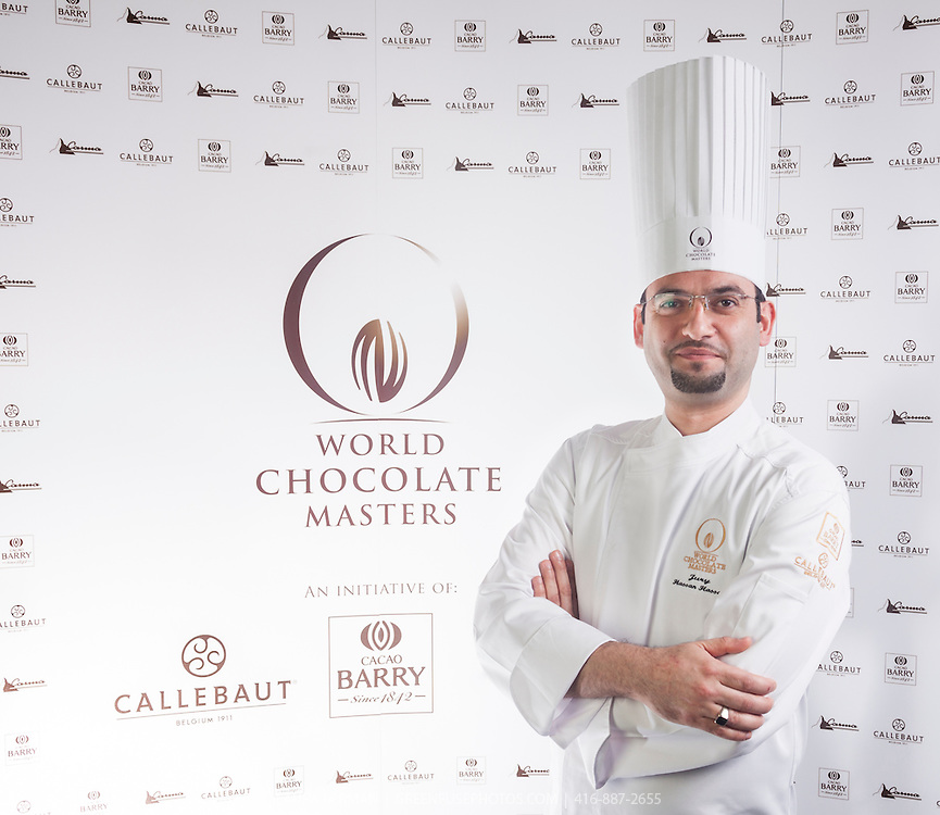 Judge Hassan Hassan. World Chocolate Masters Canadian Selection, January 20, 2013.