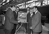 1967 - Spanish businessmen at Unidare Factory, Portadown.