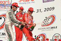 Scott Dixon, Dario Franchitti, Ryan Briscoe, Indy Car Series