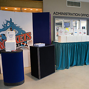 KELOWNA, CANADA - MARCH 17:  Promotions at the Kelowna Rockets game on March 17, 2017 at Prospera Place in Kelowna, British Columbia, Canada.  (Photo By Cindy Rogers/Nyasa Photography,  *** Local Caption ***