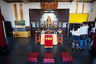 The Syuanguang Temple on Sun Moon Lake is said to have a relic of the ancient teacher.