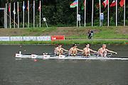 Amsterdam, NETHERLANDS,GBR BLM4X,  2011 FISA U23 World Rowing Championships, Wednesday, 20/07/2011 [Mandatory credit:  Intersport Images].