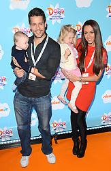 Aaron Jay Hanley, Hugh Hanley,  Faith Hanley and Michelle Heaton attend Dora and Friends TV Premiere at Empire Leiceter Sq, London on Sunday 2.11.2014