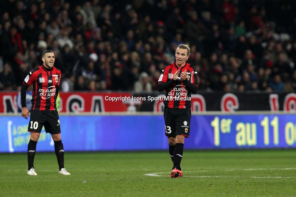 Niklas HULT  - 23.01.2015 - Nice / Marseille - 22eme journee de Ligue 1<br />Photo : Jean Christophe Magnenet / Icon Sport