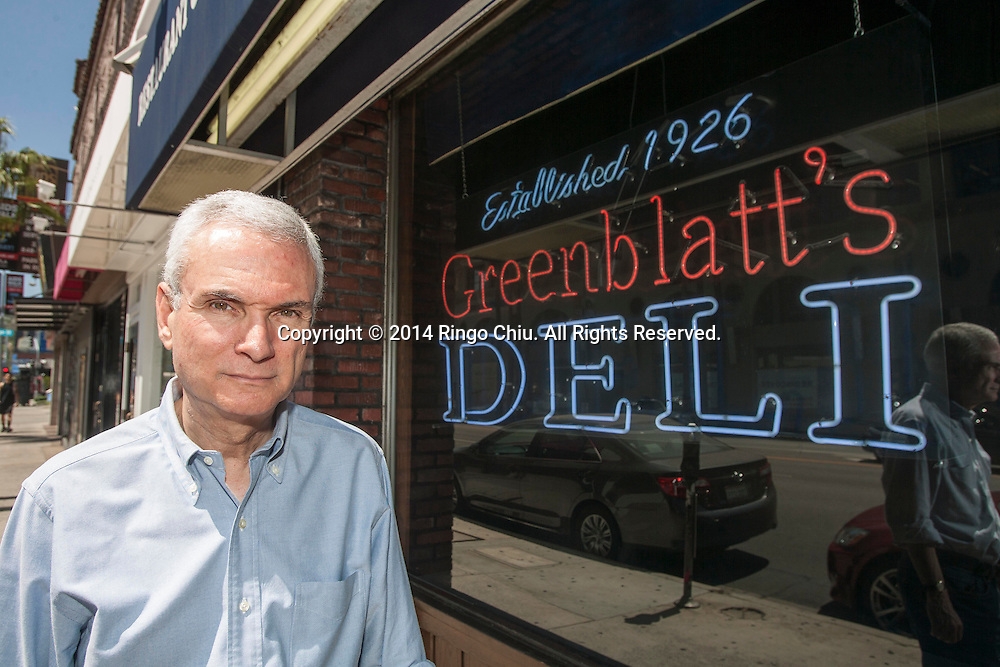 Jeff Kavin, owner of Greenblatt's Delicatessen in West Hollywood. (Photo by Ringo Chiu/PHOTOFORMULA.com)