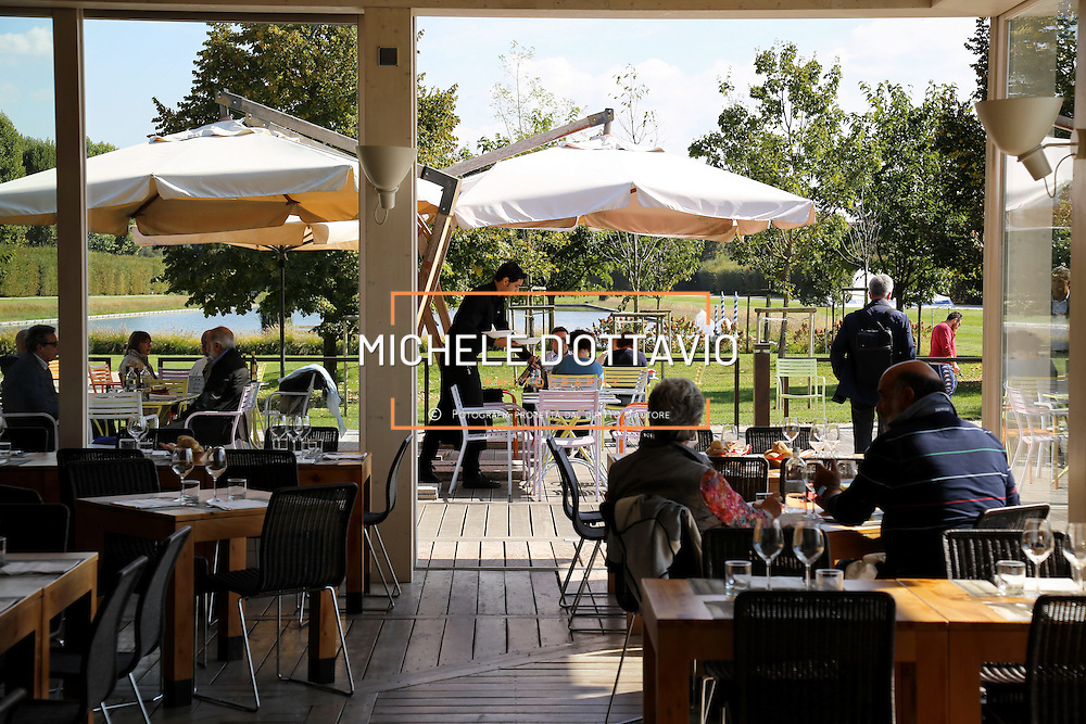 ristorante del parco nella Reggia di Venaria, una delle principali residenze sabaude in Piemonte.