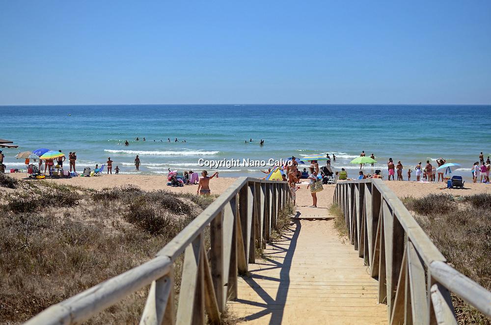 El Palmar beach, Cadiz