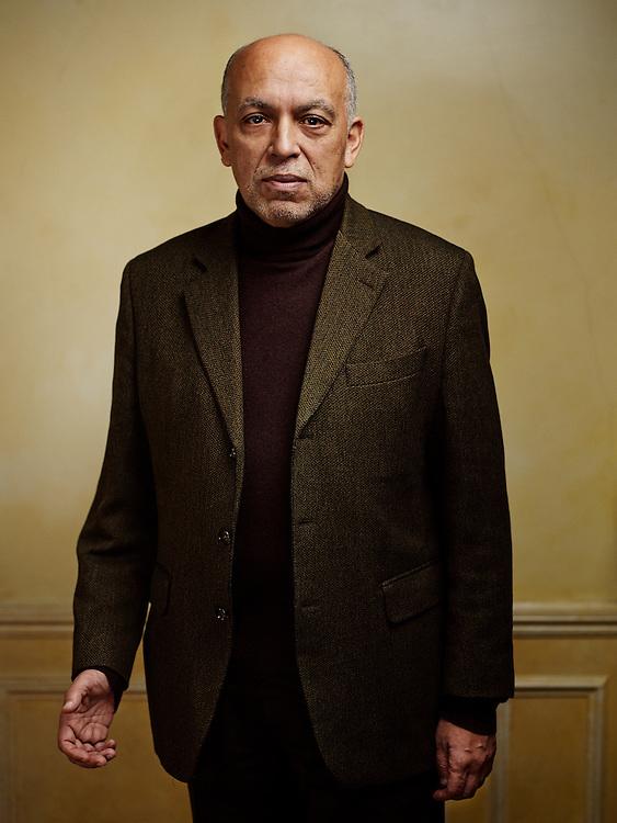 PARIS, FRANCE. DECEMBER 11, 2013. Abderrahmane Hadj-Nacer, former governor of the Central Bank of Algeria, is now a banker in the private sector. Photo: Antoine Doyen