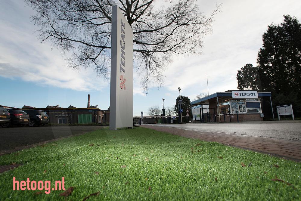 Nederland, Nijverdal 13 jan 2016  gebouwen van het bedrijf ten Cate in Nijverdal. Gilde Buy Out Partners heeft een bod van €26,-/aandeel gedaan op de aandelen Koninklijke ten Cate. Vandaag donderdag 14jan2016 wordt bekend of ze de benodigde 60 procent van de aandelen heeft weten te verwerven waardoor de overname geslaagd is en ten Cate van de beurs gaat foto: Cees Elzenga/HH