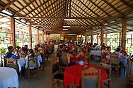 A cafe in Yara, Granma Province, Cuba.