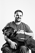 Christopher Josep Wolff<br /> Air Force<br /> E-6<br /> Oct. 9, 2001 - Mar. 28, 2012<br /> Aerospace Maintenance Craftsman<br /> OEF, OIF<br /> <br /> Service Dog: Aspen<br /> <br /> Colorado Springs, CO