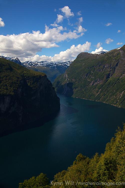 Europe, Norway, Geiranger. Geiranger Fjords.