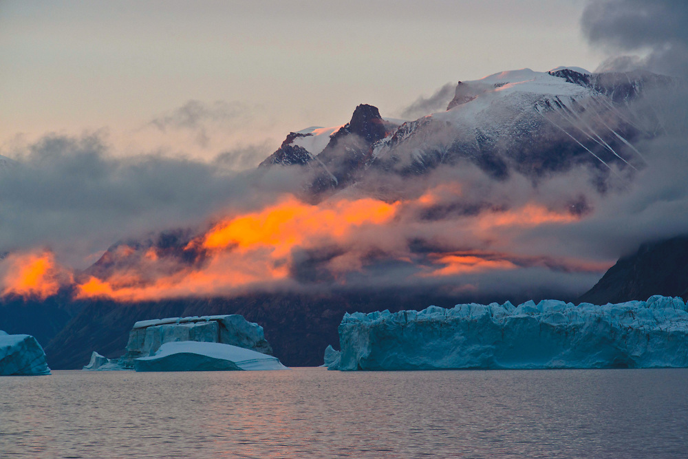 Eskimo Bukta, Scoresby Sund, Greenland