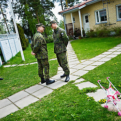 Public pressure got the army of Santahamina/Sandhamn to check their decibel levels of bomb blasts if it disturbs the neighbors or not.