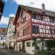 Haus Vetter is a half-timbered house on Bodenseeradweg in Stein am Rhein village, Schaffhausen Canton, Switzerland, Europe.