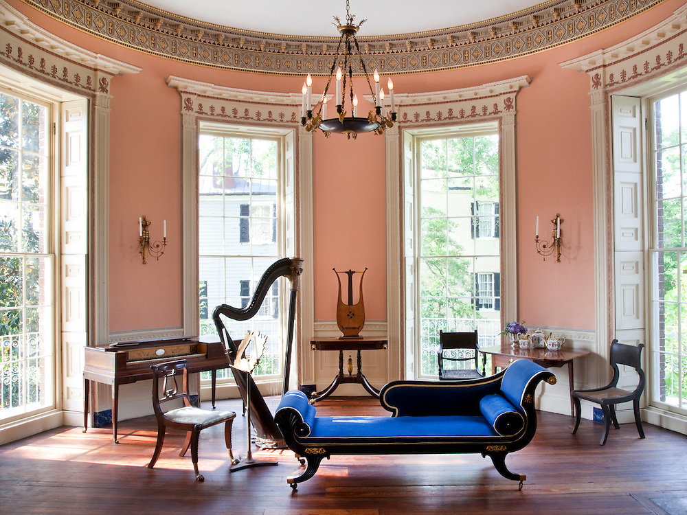 Music room nathaniel russell house evan sklar for House interior images