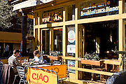 New York City: Cafe in Greenwich Village