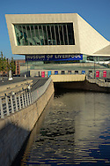 The Museum of Liverpool on the waterfront in Liverpool, Britain.
