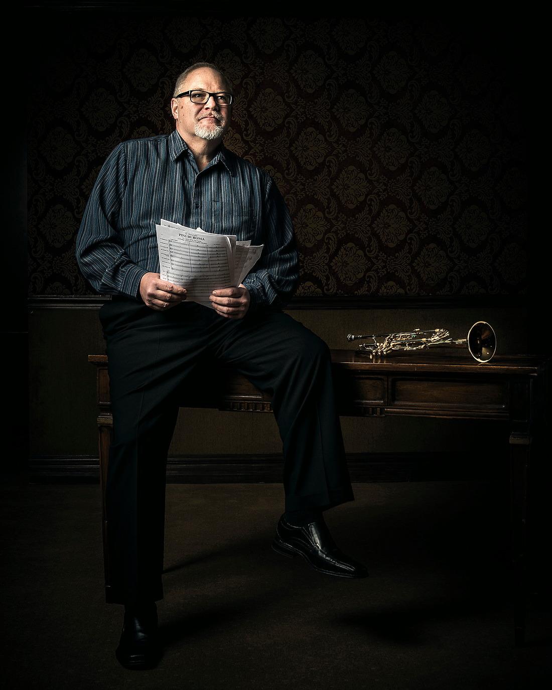 Chris Jaudes Internationally Known Lead / Jazz / Broadway Trumpet Star. — © Jeremy Lock/