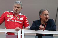 Sergio Marchionne e Maurizio Arrivabene    - Monza 04.09.2016 - Formula 1 Gran Premio d'Italia - Gara
