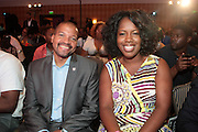 Miami Beach, Florida, NY-June 23: (L-R) Don Butler, VP, Marketing, Cadillac and Jocelyn Allen, Cadillac attend the 2012 American Black Film Festival Winners Circle Awards Presentation held at the Ritz Carlton Hotel on June 23, 2012 in Miami Beach, Florida (Photo by Terrence Jennings)