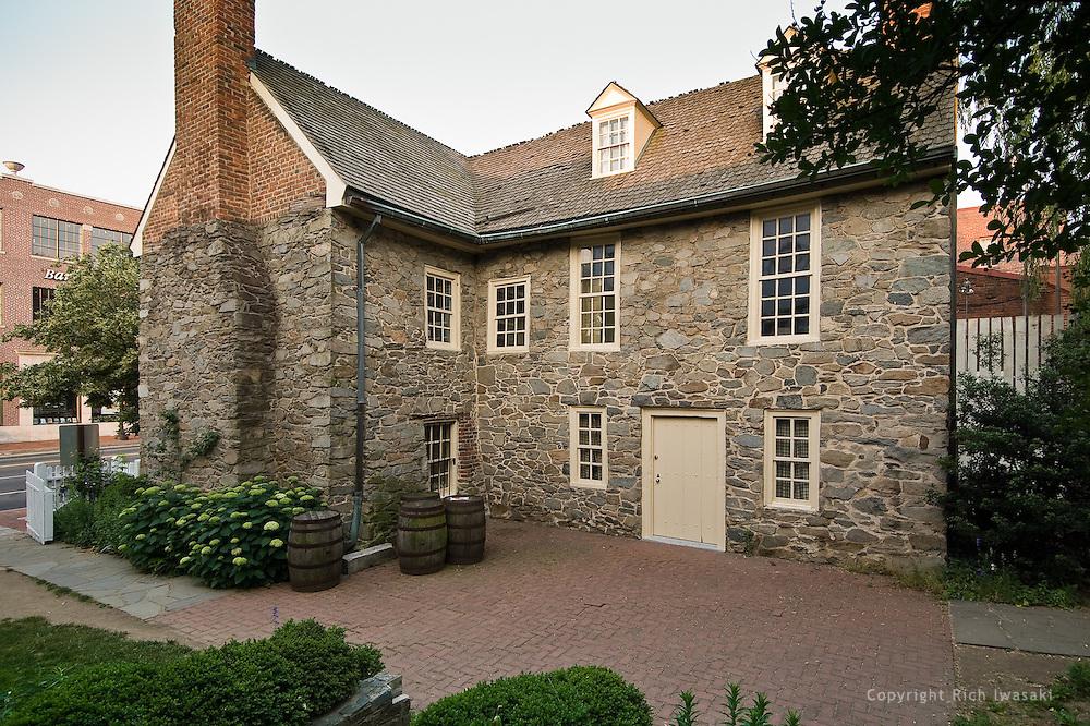 Old Stone House Exterior Washington Dc Rich Iwasaki