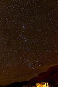 Stars in a clear night sky