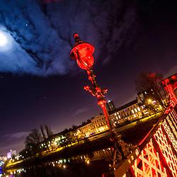 Moon and Jupiter, Glasgow Nov 2012