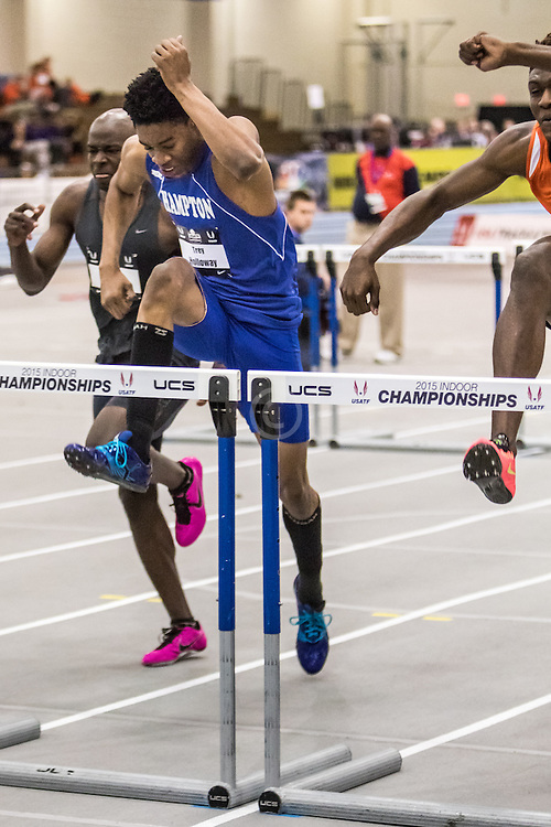 USATF Indoor Track & Field Championships: mens 60 hurdles, Trey Holloway