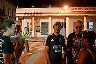 Street, Romerias de Mayo, Holguin, Cuba.