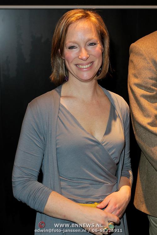 NLD/Amsterdam/20120309 - Onthulling kleden voor Care & Fair, Prinses Margarita de Bourbon de Parme