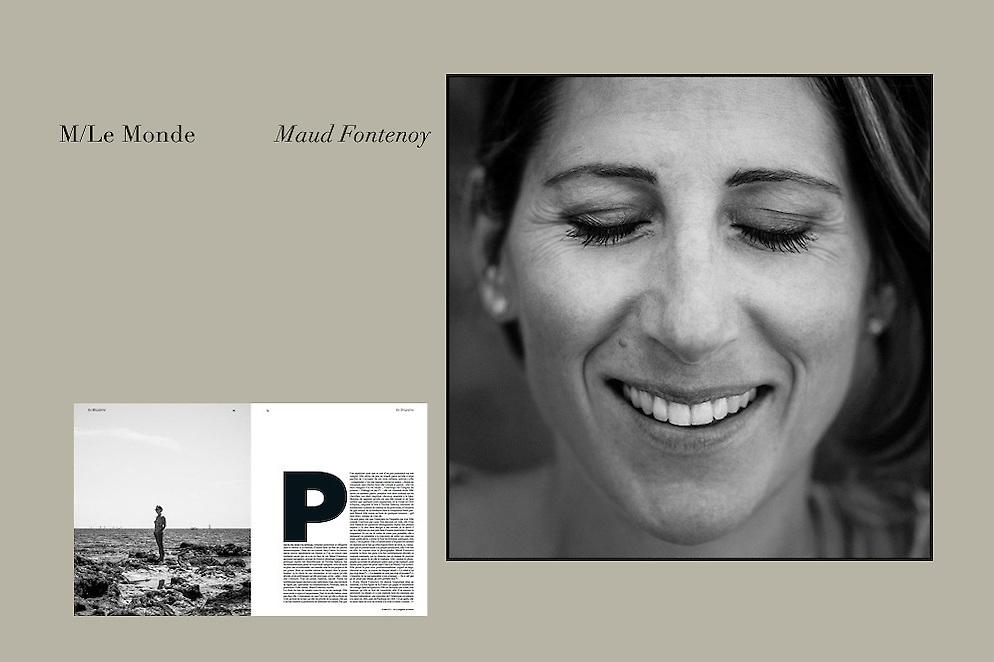 Maud Fontenoy pour le M magazine, Le Monde.
