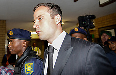 OCT 21 2014 Oscar Pistorius jailed for 5 years in prison