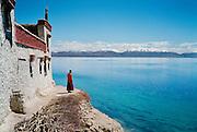 Gossul Monastery, Gossul Gompa, Lake Manasarovar, Ngari Prefecture, Tibet.