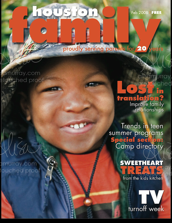 Houston Family Cover February 2008
